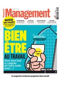 Editorial couverture magazine managment mai 2019